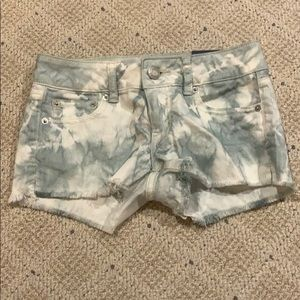 Shortie shorts by American Eagle